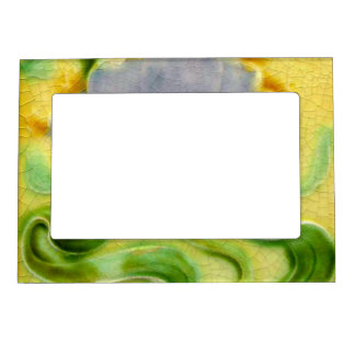 Faux Ceramic Decorative Tile Fridge Art Gallery Magnetic Frame