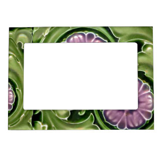 Faux Ceramic Tile Fridge Gallery Arts and Crafts Magnetic Picture Frame
