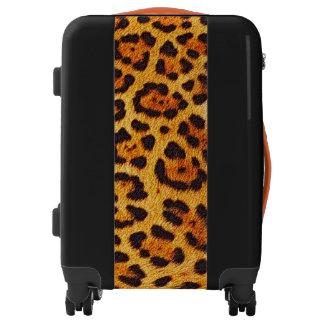 Faux Cheetah Spots Fur Luggage