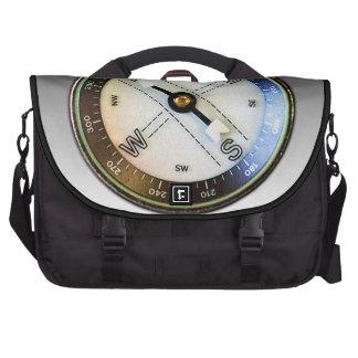 Faux Compass Computer Bag
