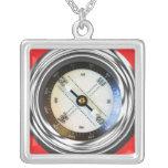 Faux Compass Pendants