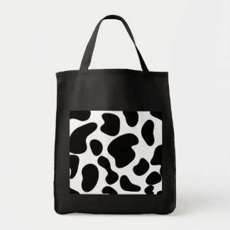 Faux Cow Hide Pattern Tote Bag