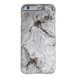 Faux Cracked Driftwood Barely There iPhone 6 Case