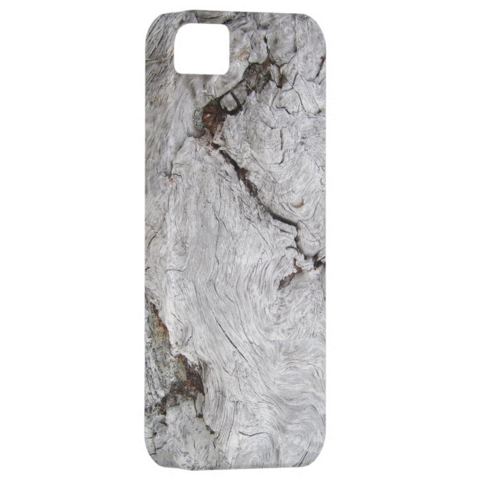 Faux Cracked Driftwood iPhone SE/5/5s Case