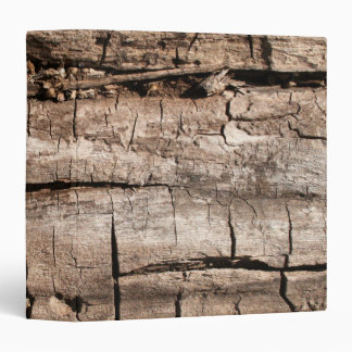 Faux Cracked Tree 3 Ring Binder