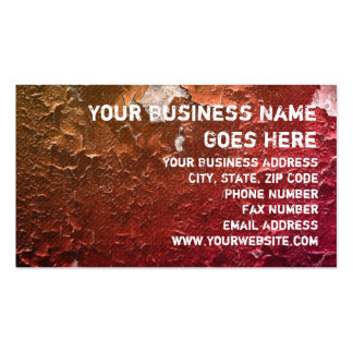 Faux Crackle Peeling Paint Vintage Grunge Design Double-Sided Standard Business Cards (Pack Of 100)