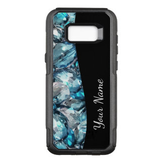 Faux Crystal Bling OtterBox Commuter Samsung Galaxy S8+ Case