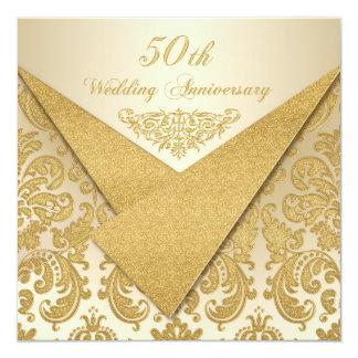 50 Anniversary Invitations Announcements Zazzle