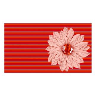 Faux flower,Jeweled & Rhinestone business cards