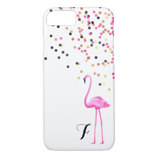 Faux Foil, Flamingo iPhone 8/7 Case