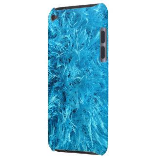 Faux Fur - Electric Blue Fuzz iPod Touch Case-Mate Case