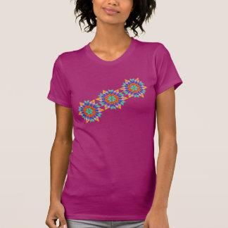 Faux Gemstone Star Quilt T-shirts