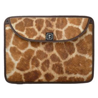 Faux Giraffe Fur Sleeve For MacBook Pro