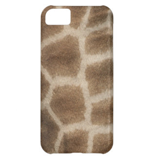 Faux giraffe skin with brown spots, from Africa iPhone 5C Covers