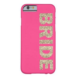 Faux Glitter Bride iPhone 6 Case in Pink