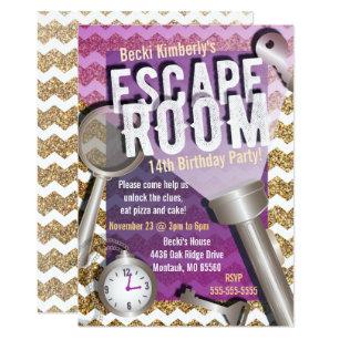 Escape Invitations Zazzle