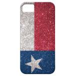 Faux Glitter Texas flag iPhone 5 Cover