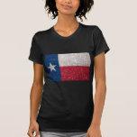 Faux Glitter Texas flag Tee Shirts