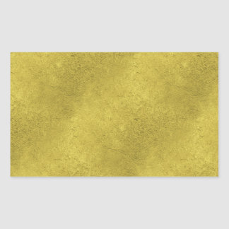 Faux Gold Background Pattern Sparkle Design Rectangular Sticker