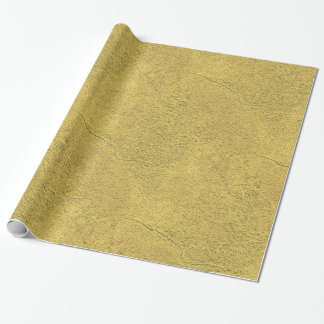 Faux Gold Background Pattern Sparkle Design Wrapping Paper