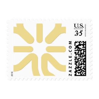 Faux Gold Clover Shamrock Irish St Patricks Day Postage