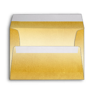 Faux Gold Company New Employee Envelope