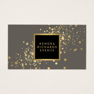 Event Planner - Simple Elegant Mother of Pearl Business Cards