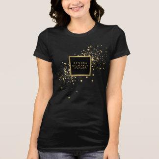 Faux Gold Confetti T-Shirt