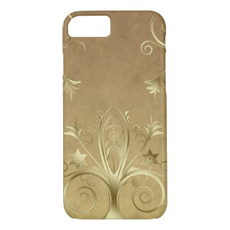 Faux Gold Etched iPhone 7 Case