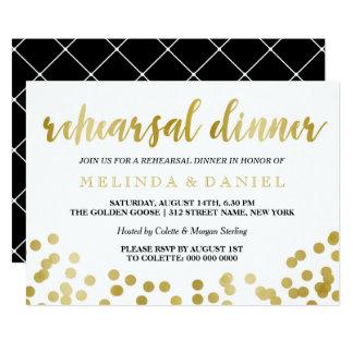 Classic Rehearsal Dinner Invitation Design