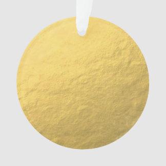 Faux Gold Foil Effect Printed