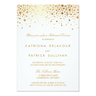 Elegant Rehearsal Dinner Invitations Announcements Zazzle