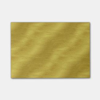 Faux Gold Foil Texture Background Sparkle Template Post-it Notes