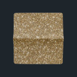 """Faux Gold Glitter Checkbook Cover<br><div class=""""desc"""">Stylish gold glitter - printed photo effect glitter background - glitz glamor - stars or starry glow effect - template to make your own. GraphicsByMimi &#169;. Use to create your own stylish one of a kind gift for you or your friends and family by personalizing it with your name, monogram,...</div>"""