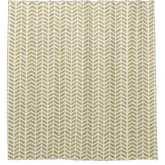 Faux Gold Glitter Shower Curtains Zazzle