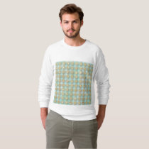faux,gold glitter,glam,mint,tartan,plaid,pattern sweatshirt