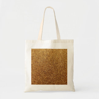 Faux Gold glitter graphic Tote Bags