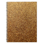Faux Gold glitter graphic Journals