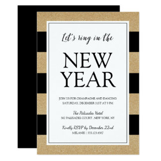 New Years Eve Invitations & Announcements   Zazzle
