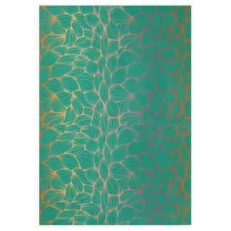 faux gold,green,elegant,leaf,chic,beautiful,modern wood poster