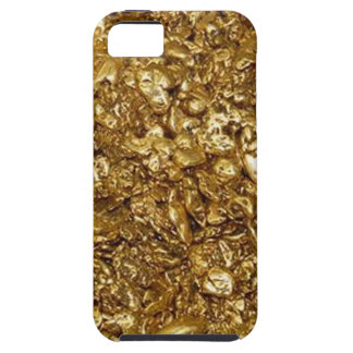 faux Gold Nuggets iPhone 5 Case