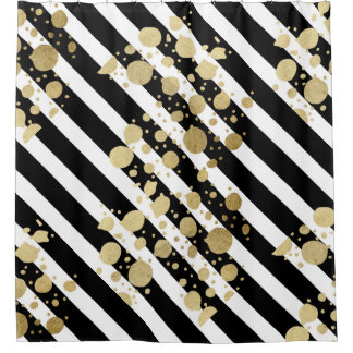 Black And White Shower Curtains | Zazzle