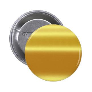 Faux gold,shining,metallic,yellow,golden,graphic pinback button