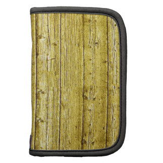 Faux gold wood texture planners