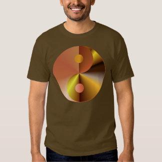 Faux Gold Yin Yang Shirt