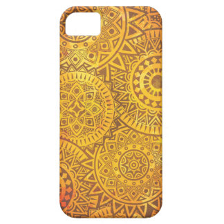 Faux Golden Suns pattern iPhone 5 Covers