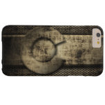 Faux Grunge Metal Colorado Flag Barely There iPhone 6 Plus Case