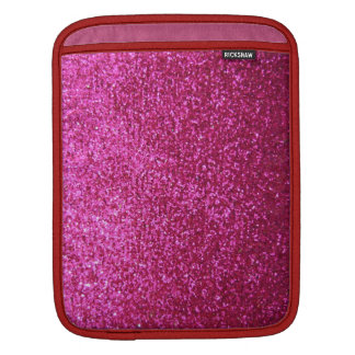 Faux Hot Pink Glitter Sleeve For iPads
