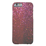 Faux Hot pink Sparkles & Glitter - Glam & Girly iPhone 6 Case