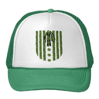 Faux Lace Front Print Hat